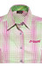 Maier Sports Agatha Bluse Damen pink/green check